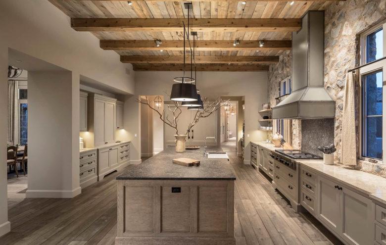modern luxury kitchen by PHX Architecture