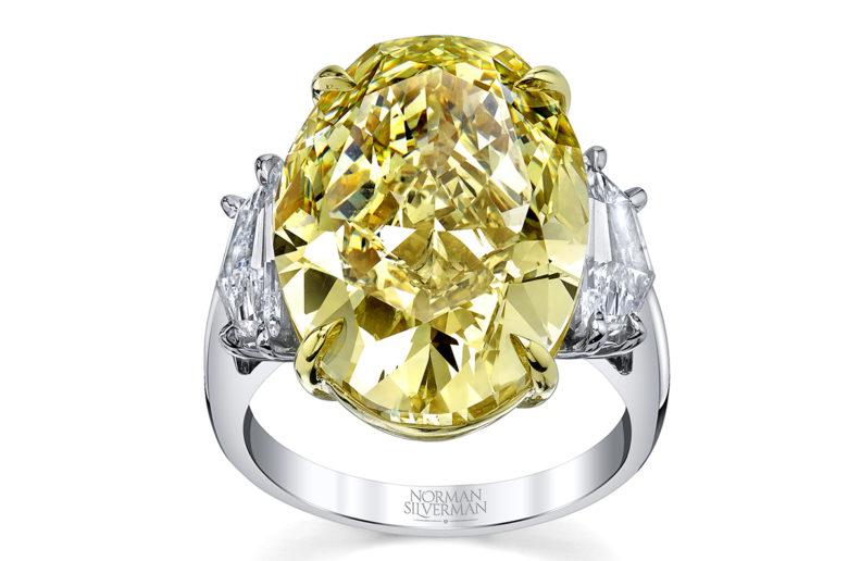 non traditional gemstone engagement ring design
