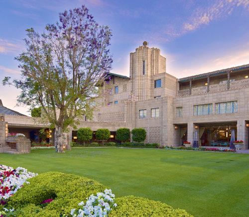 Arizona Biltmore Entrance Frank Lloyd Wright inspired