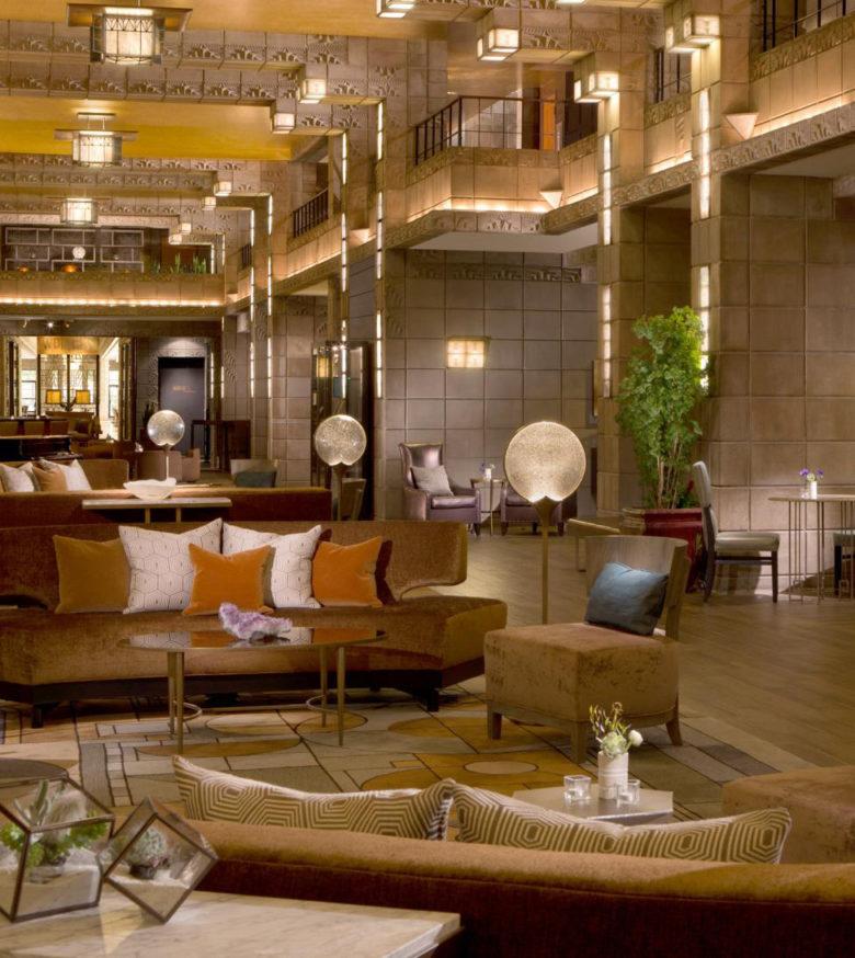 Frank Lloyd Wright inspired design Arizona Biltmore