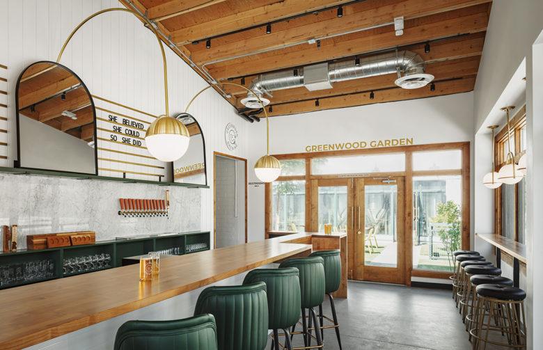 Greenwood Brewery mid century interior design