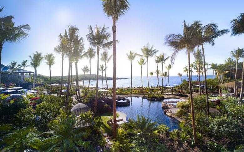Hawaiian vacation at Four Seasons Resort Lanai