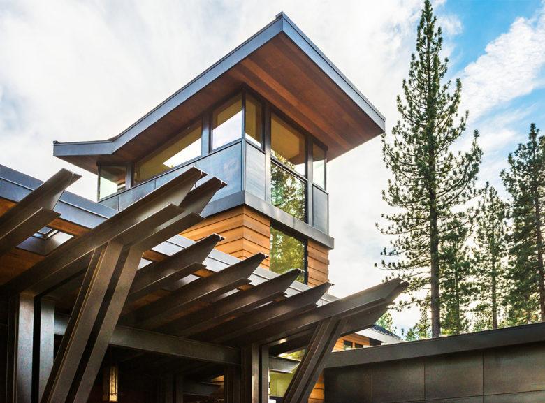 John Sather of Swaback Partners architect Lake Tahoe cabin