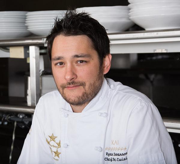 Kai restaurant chef in Phoenix Ryan Swanson