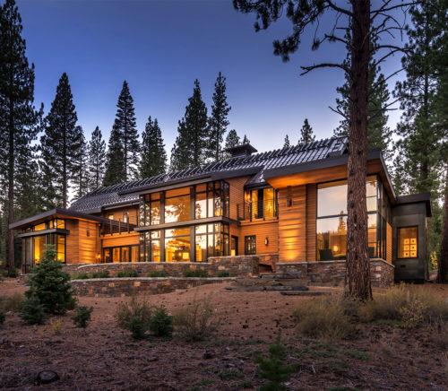 Lake Tahoe luxury cabin architect Swaback Partners