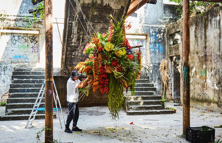 Makoto Azuma floral designer and botanical sculptor