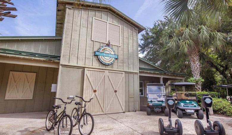 Omni Amelia's Wheels luxury resort activities and bike ride
