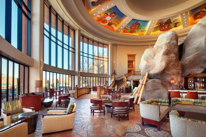 Sheraton Wild Horse Pass renovated lobby