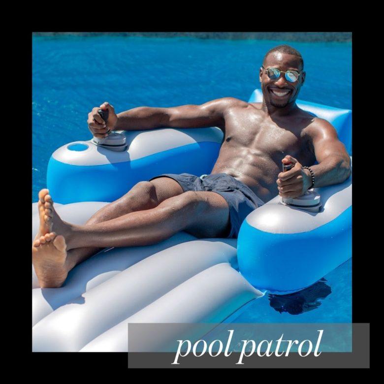 Splash Runner Pool Lounger best gift for Father's Day