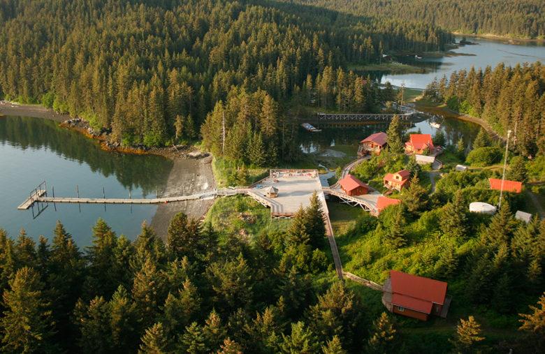 Tutka Bay Lodge luxury resort activities