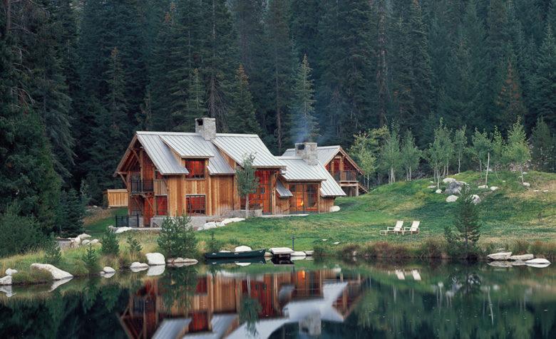 Walker Warner residential architecture Wilderness cabin