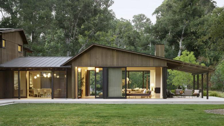 Walker Warner residential architecture modern woodland home