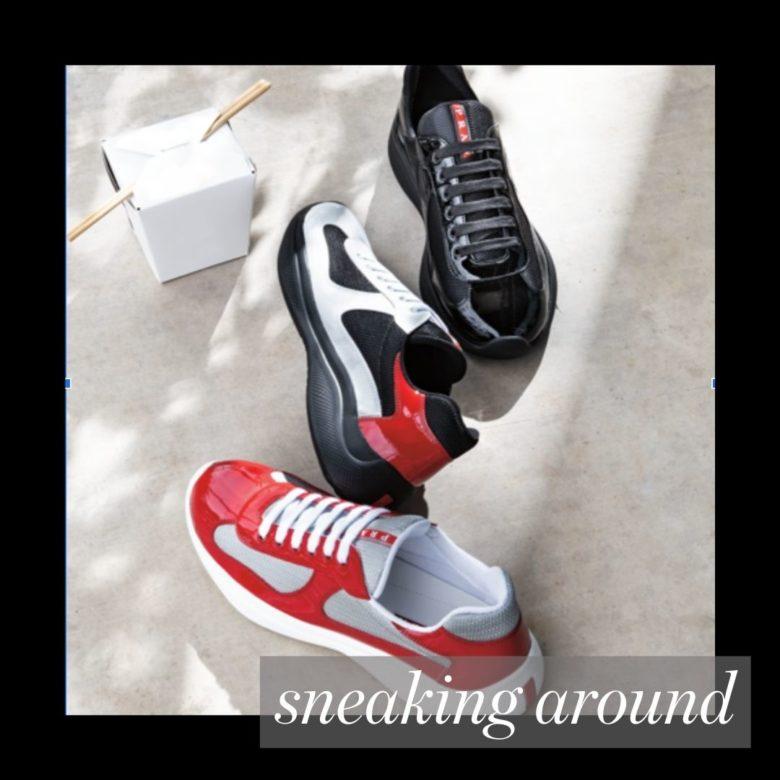 best gift for dad Prada sneakers