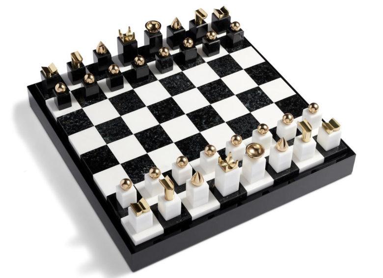 best luxury chess set by L'objet