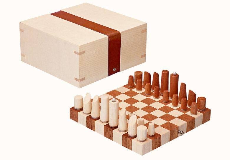 best unique chess set by Hermes