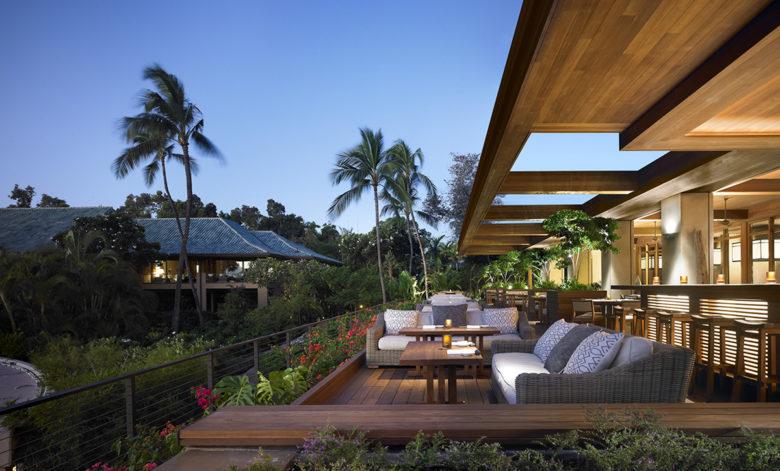 fine dining at the Four Season Resort Lanai in Hawaii