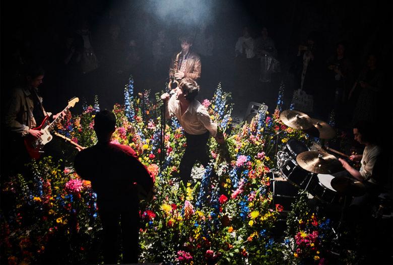 floral designer and rock star Makoto Azuma