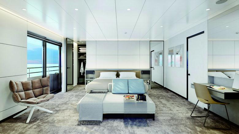 luxury small cruise line Emerald Azzurra