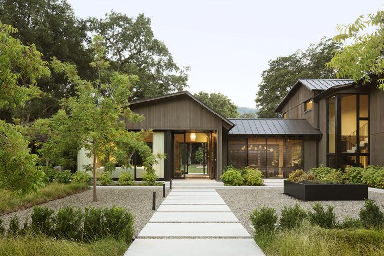 modern woodland residential architecture Walker Warner