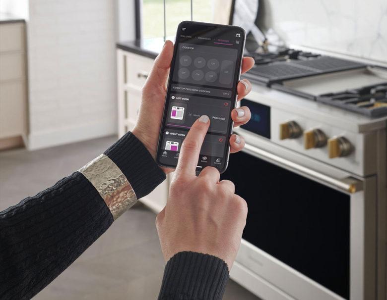 smart app control GE Monogram professional range