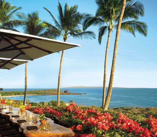 tropical Hawaiian vacation at the Four Seasons Resort Lanai