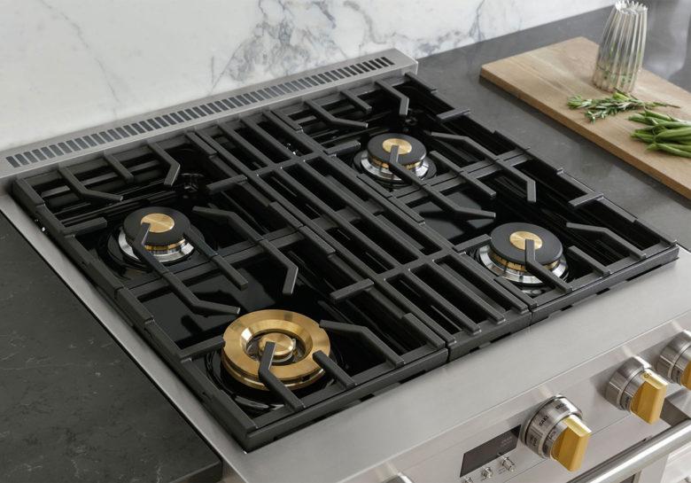 true temp burners on GE Monogram professional range