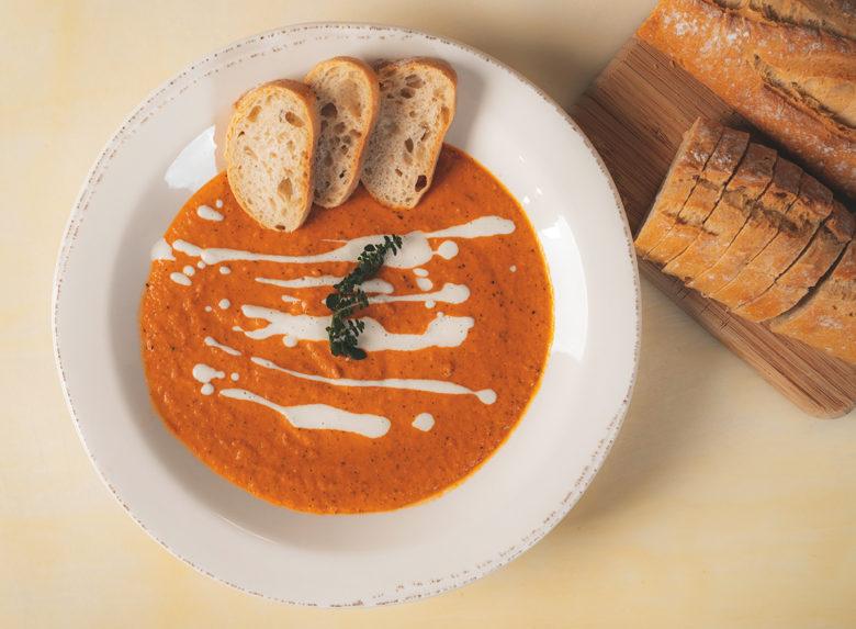 vegan soup by Chef Eddie Garza