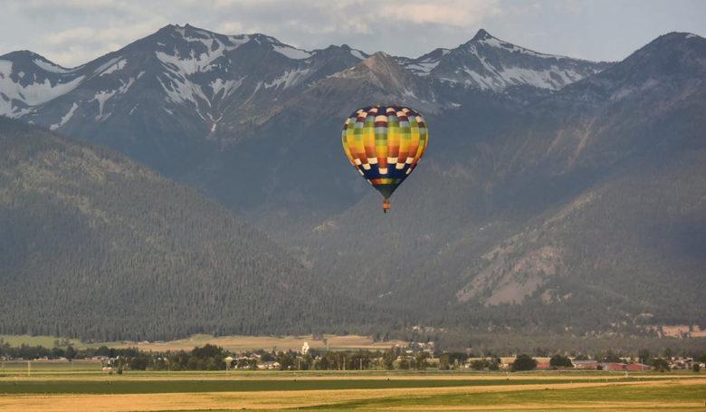 Big Foot Balloons in Park City Utah