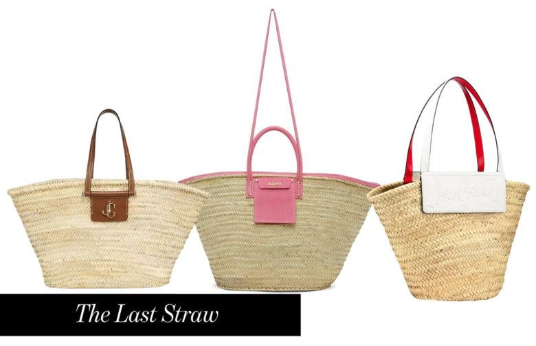 Jimmy-Choo-Jacquemus-and-Louboutin-straw-beach-bag