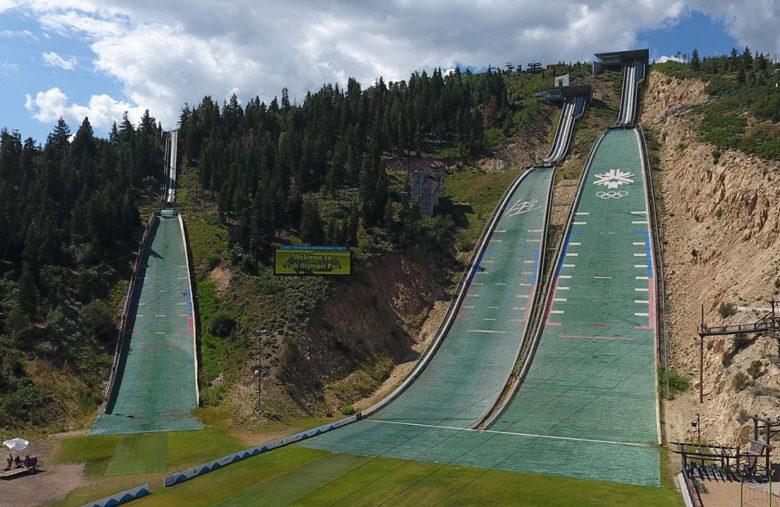 Olympic Park in Park City Utah
