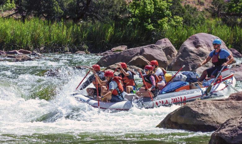 rafting in Park City Utah