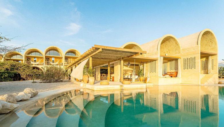 Casona Sforza sustainable resort in Mexico