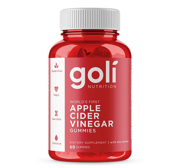 Goli apple cider vinegar gummies ICONIC CRAVES