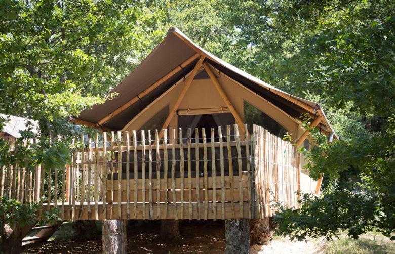 Huttopia Adirondacks luxury camping