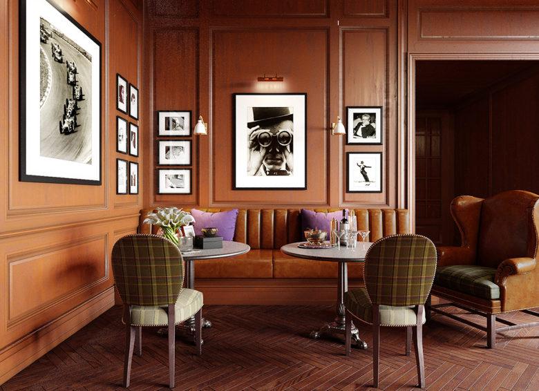 Joy Moyler Interiors bar design