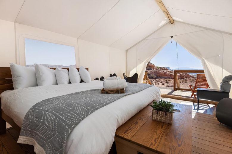 Under Canvas retreats luxury camping