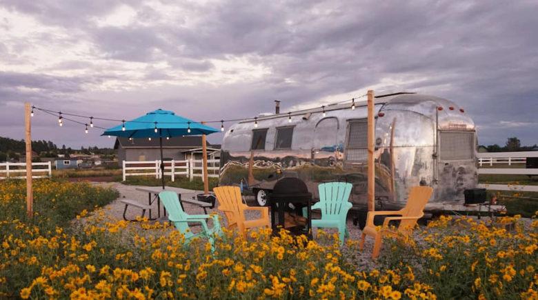 Flagstaff Airstream airbnb rental
