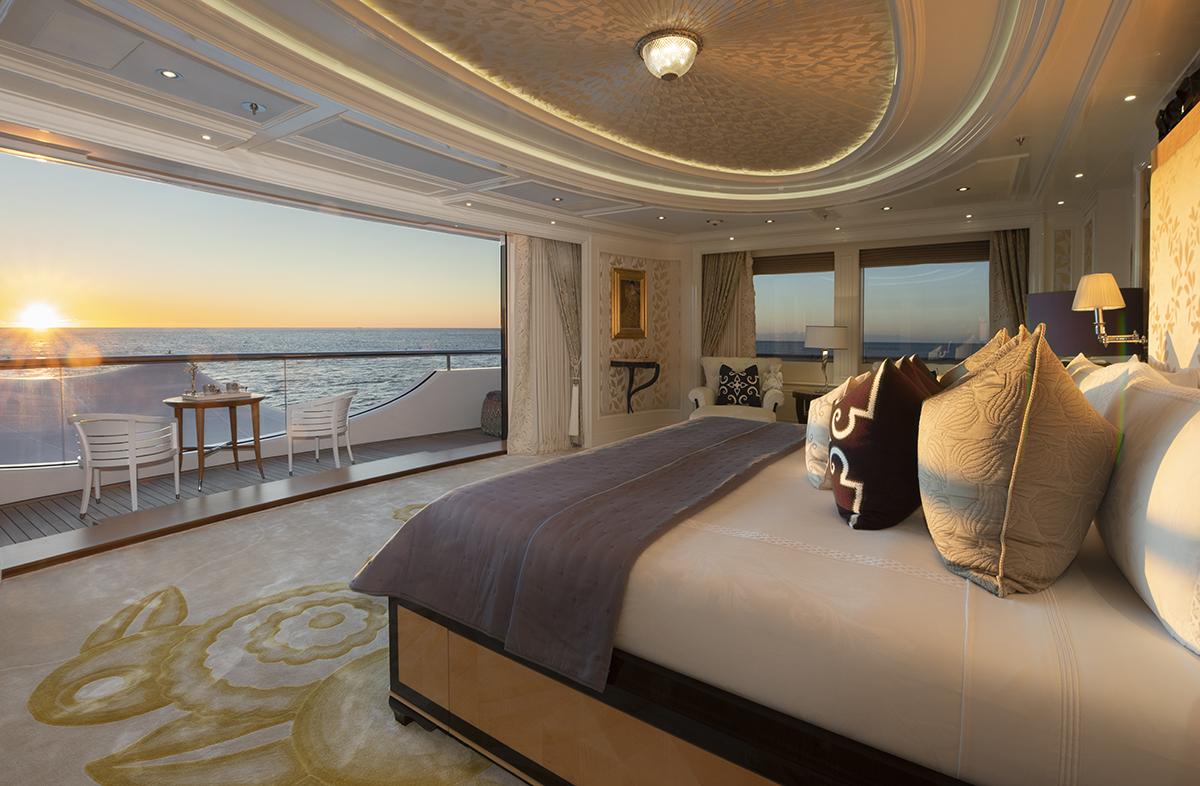 Fraser Yachts cruising in luxury