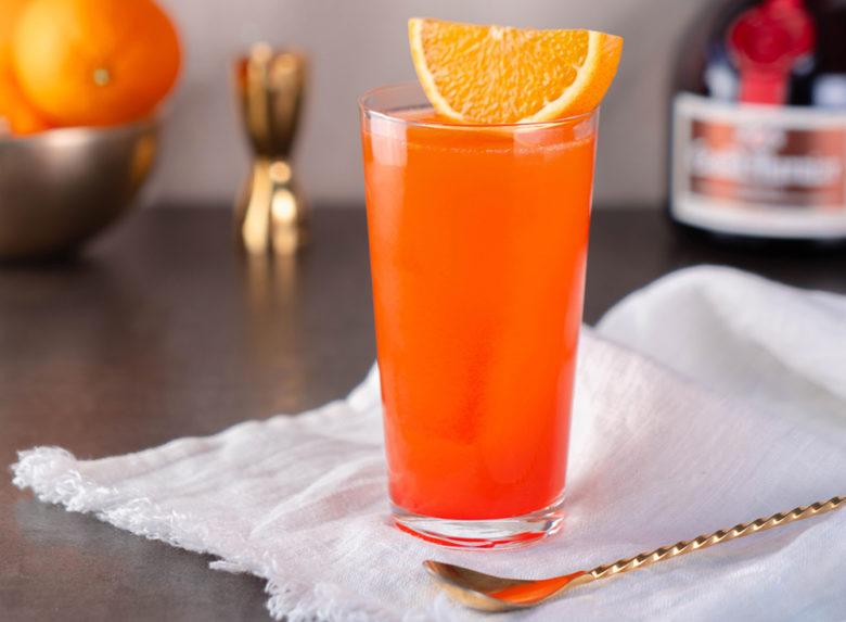 Grand Marnier Garibaldier cocktail recipe