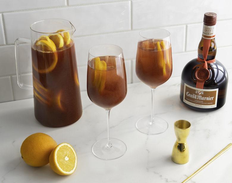 Grand Marnier Sangria cocktail recipe