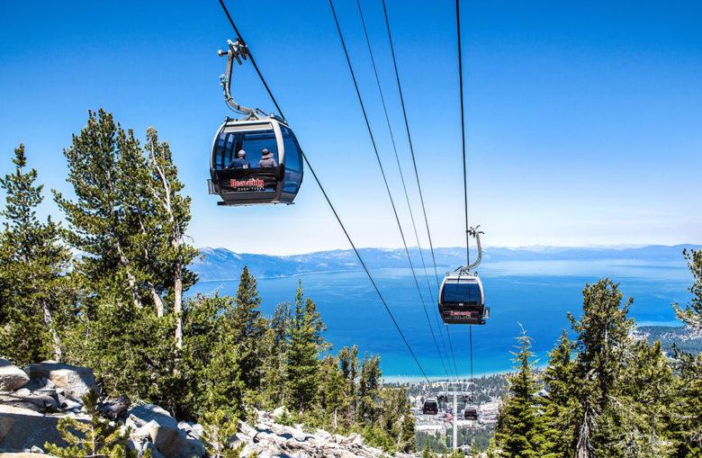 Heavenly Mountain gondola ride in Lake Tahoe