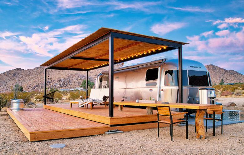 Joshua Tree airbnb Airstream rental
