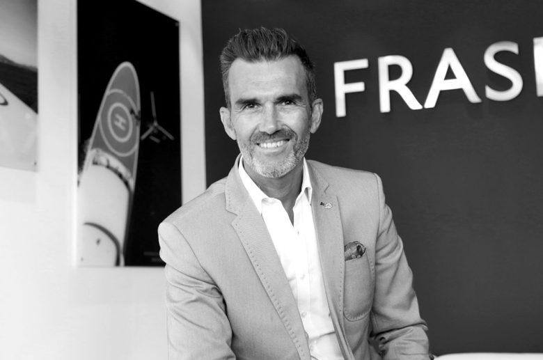 Raphael Sauleau CEO Fraser Yachts