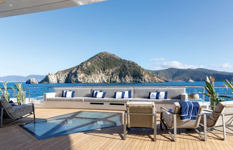 luxury modern design from Fraser Yachts