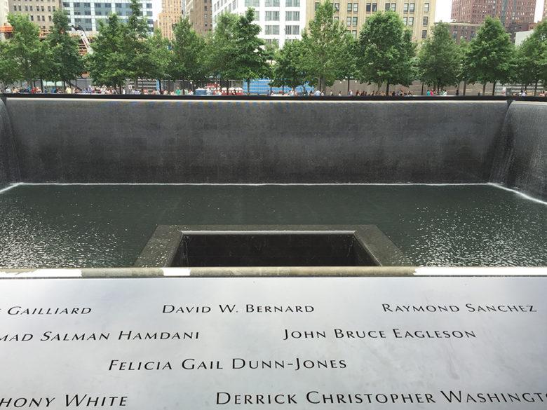 9-11 memorial twin towers New York