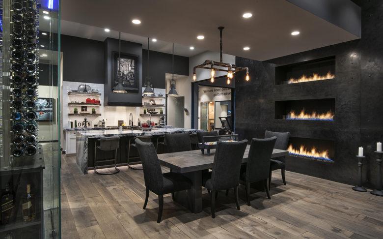 Cullum Homes modern kitchen renovation