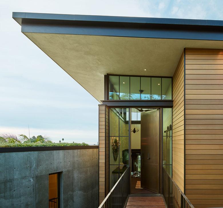 LA hills modern home Mutuus Design Stuido