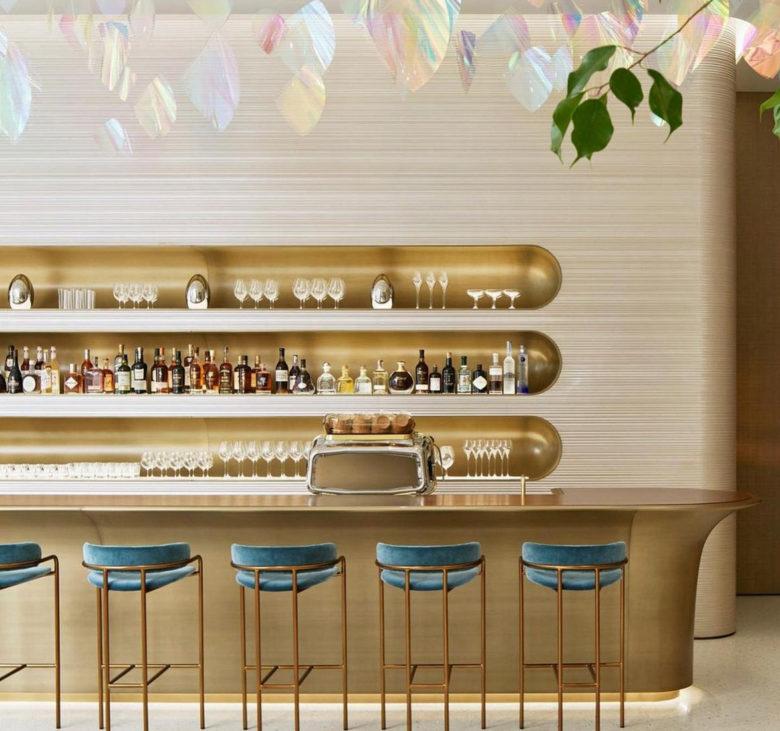 Louis Vuitton luxury brand Le Café V