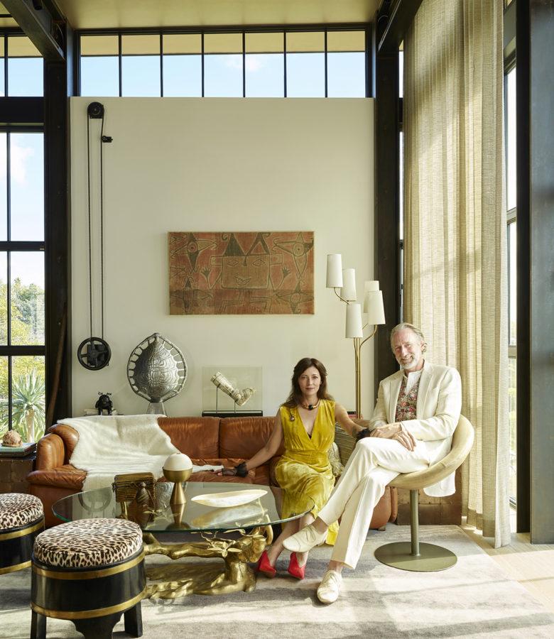 Mia Sara and Brian Henson Mutuus Design Studio