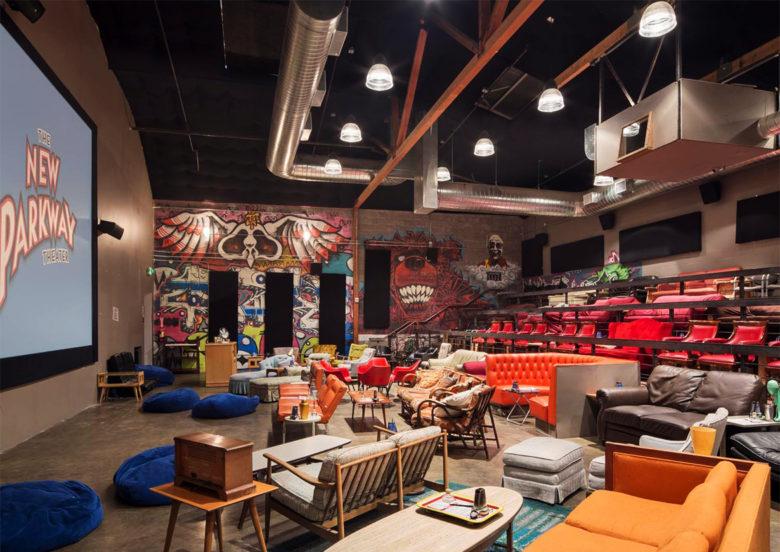 New-Parkway-Theater retro luxury theater
